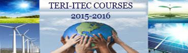 TERI-ITEC Courses