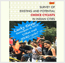 Online survey of choice cyclists in India