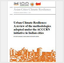 Learning about urban resilience from pioneer Indian cities