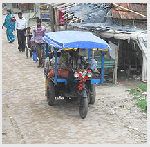 Introducing electric vehicles in the Sunderbans