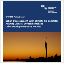 International Conference on Urban Development with Climate Co-Benefits