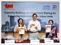 Conference on Capacity building and experience sharing for enhancing sustainability in urban India