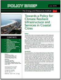 TERI releases policy brief on 'Climate Resilient Infrastructure and Services in Coastal Cities'