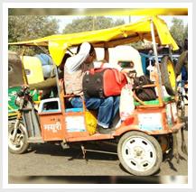 TERI undertakes a study on e-rickshaws plying in Delhi