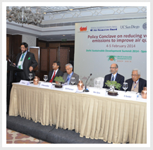 Policy Conclave on reducing vehicular emissions to improve air quality