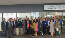 TERI, University of California, San Diego and California Air Resource Board conduct a 3-day workshop on reducing transport emissions
