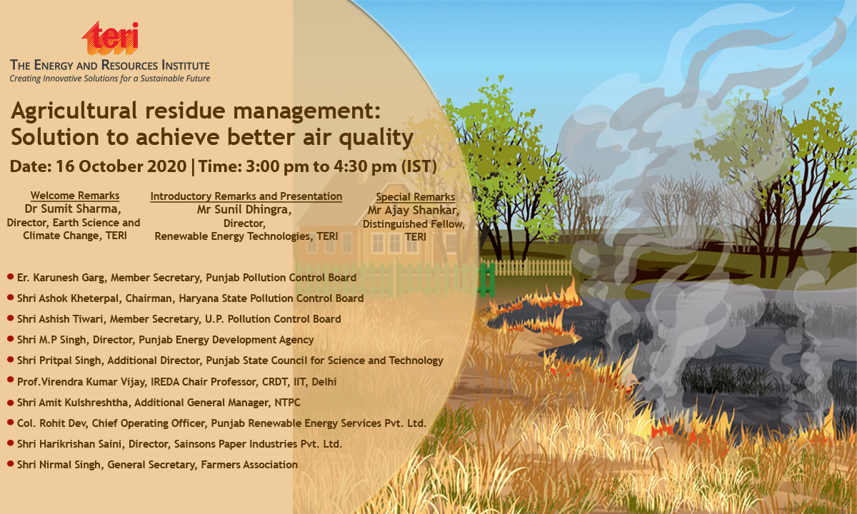 Agriculture residue management
