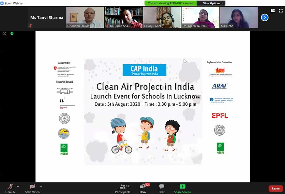 CAP India event launch