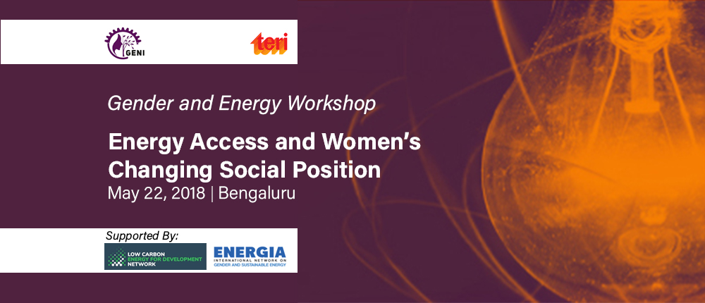 gender and energy workshop