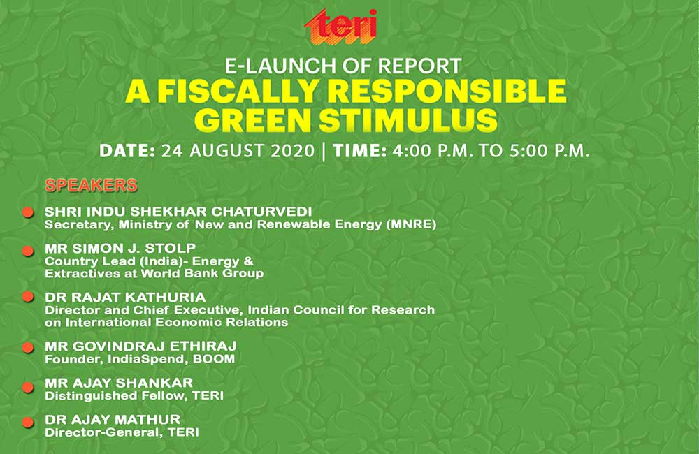 Green Stimulus Report Launch