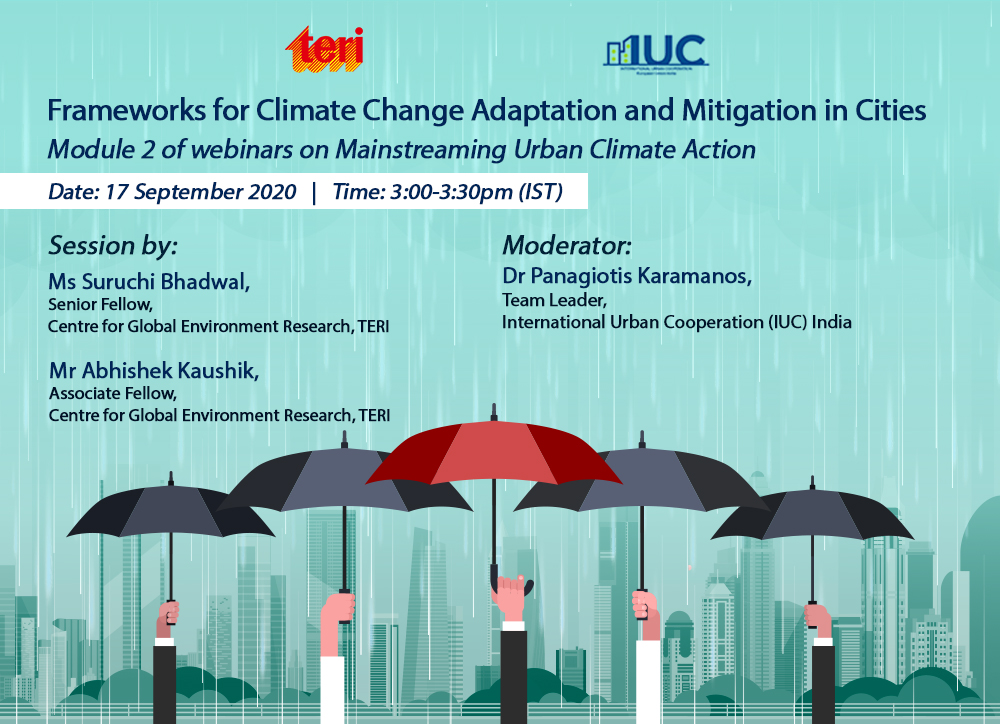 Mainstreaming climate action
