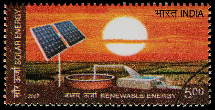 renewable energy stamp