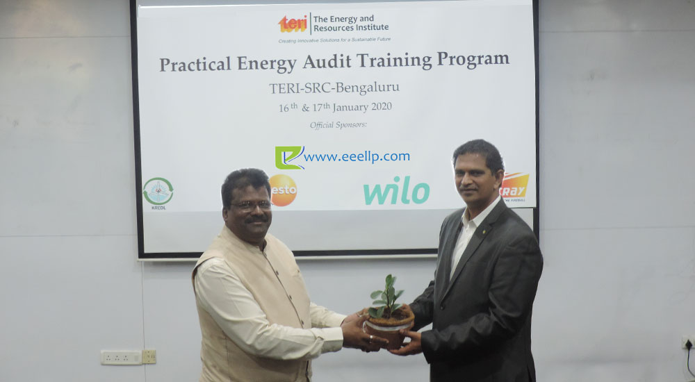 Practical energy audit training programme
