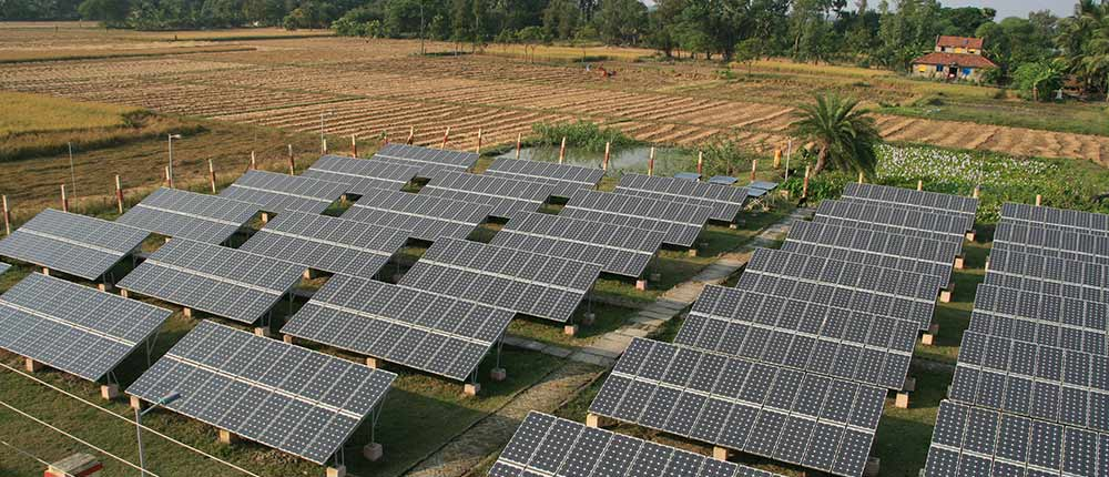 Safeguard duty on imported solar panels