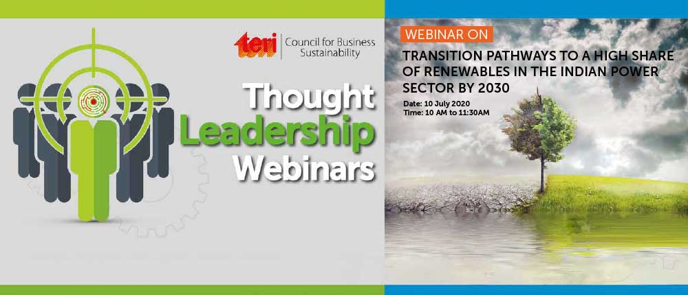 Though leadership webinar