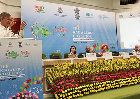 TERI organised session on smart cities and urban landscapes on World Environment Day 2018