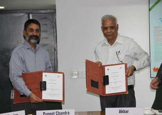 IIM-L has signed a MOU with TERI